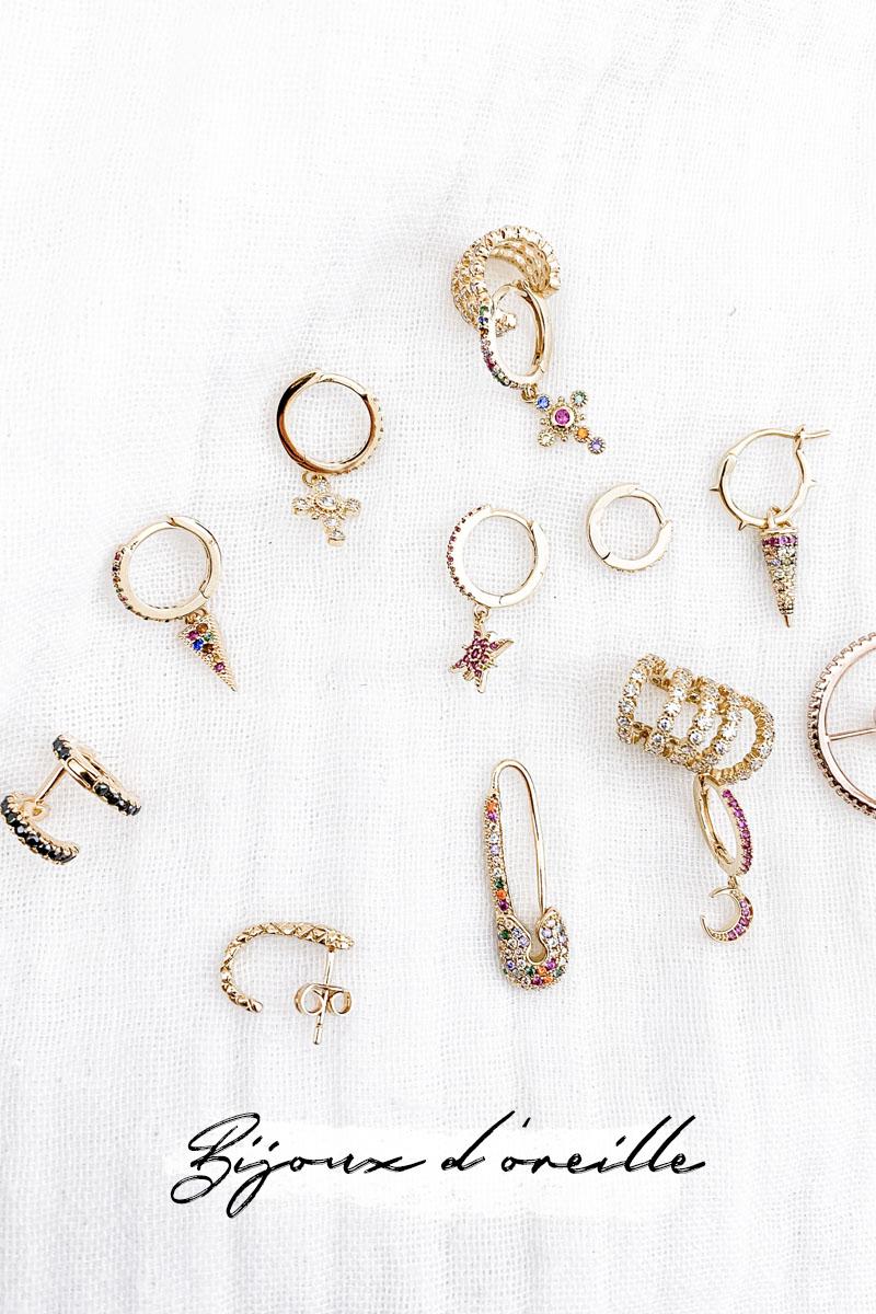 bijoux d'oreille
