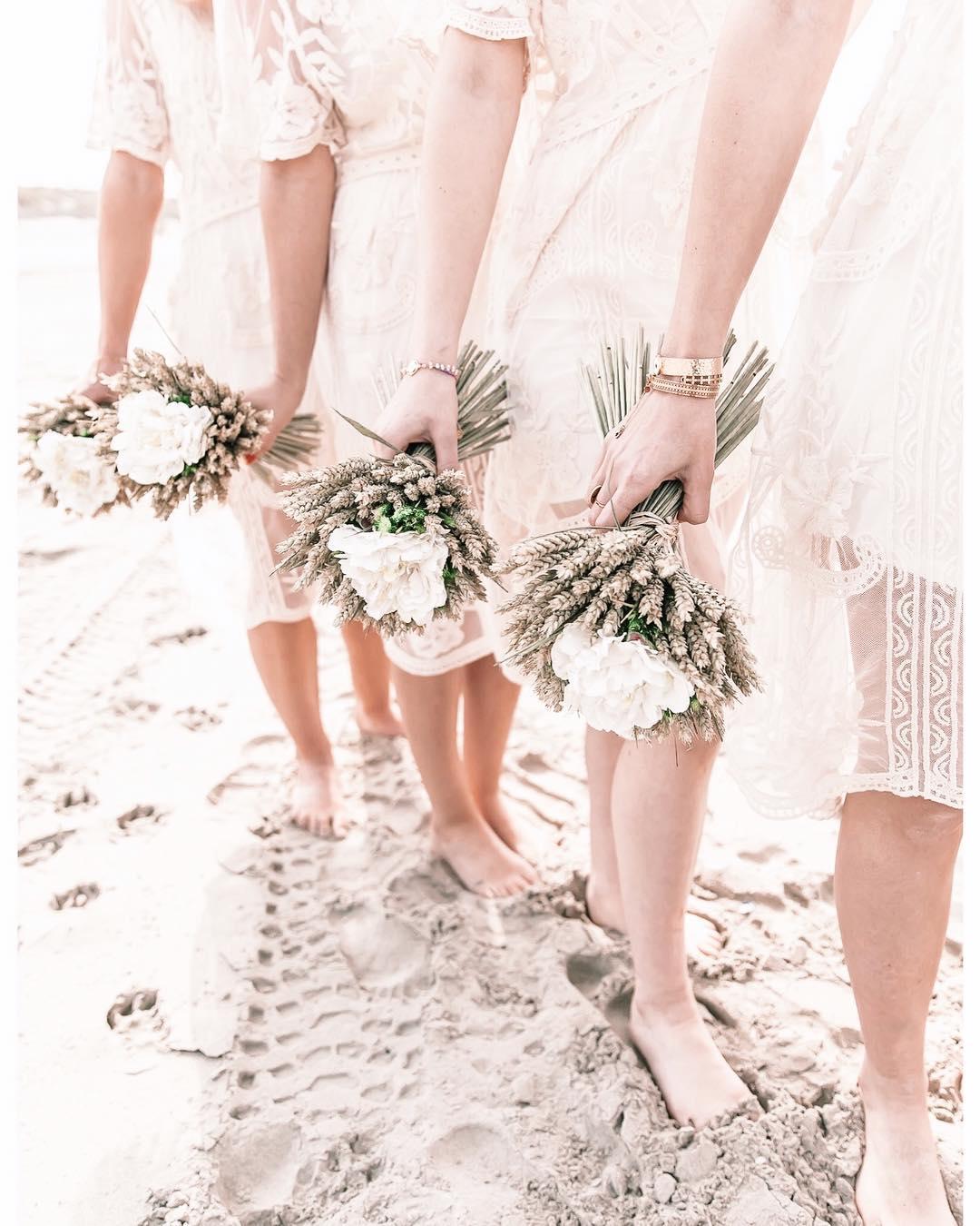 mariage fleurs séchées