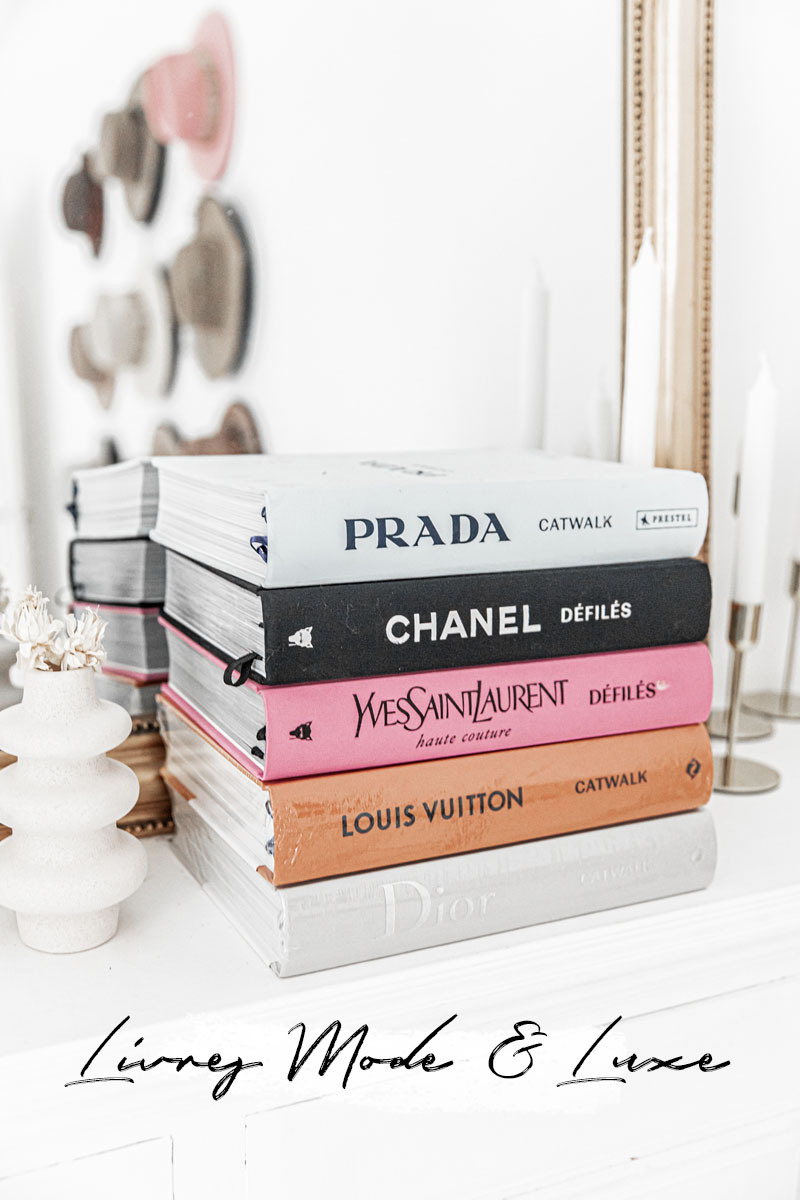 livres mode luxe haute couture