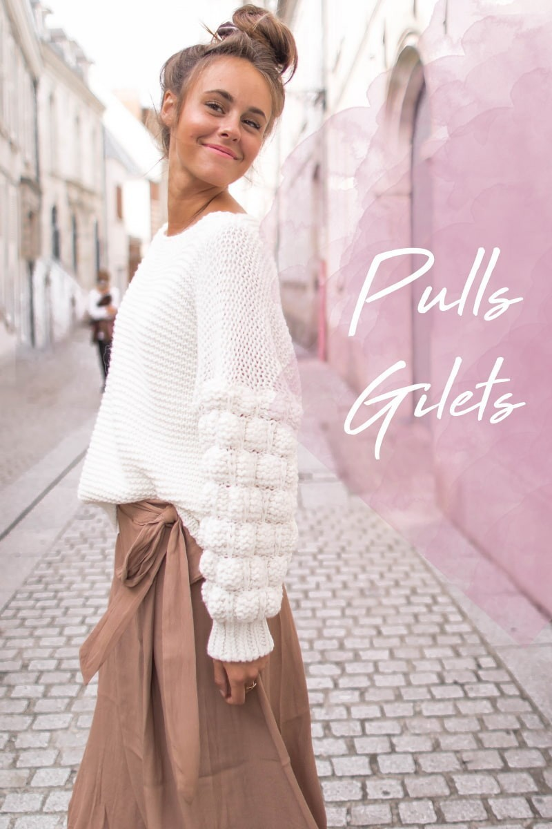 pulls gilets grosse maille mohair