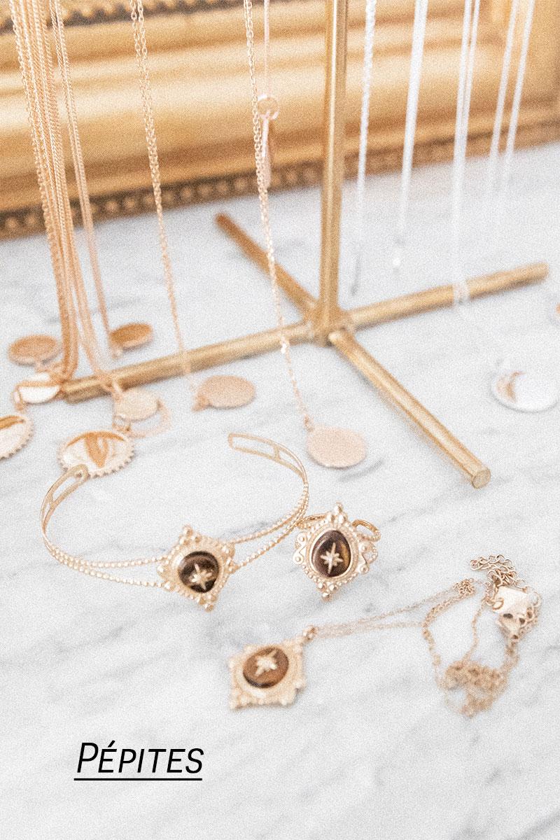 bijoux pépites