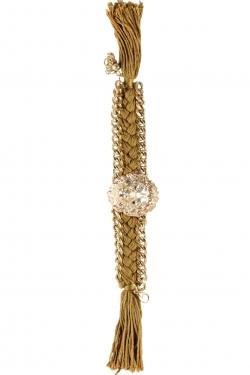 Bracelet lion beige
