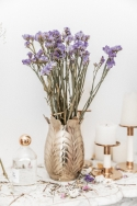 Bouquet de fleurs séchées Statice Sinuata Violet clair