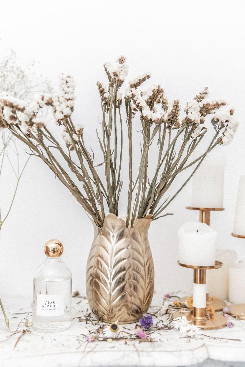Bouquet de fleurs Statice Sinuata 45cm
