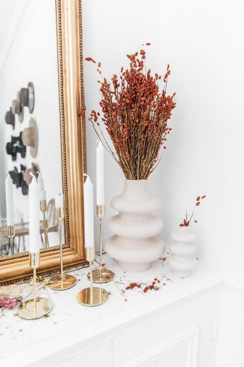 BRIZA MAXIMA Orange - Bouquet de fleurs séchées