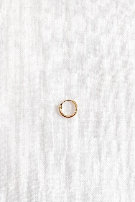 Petite Créole unique Plaqué Or 1