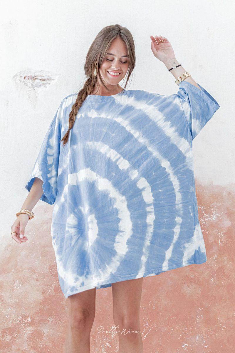 BALI Bleue - Robe Tie & Dye