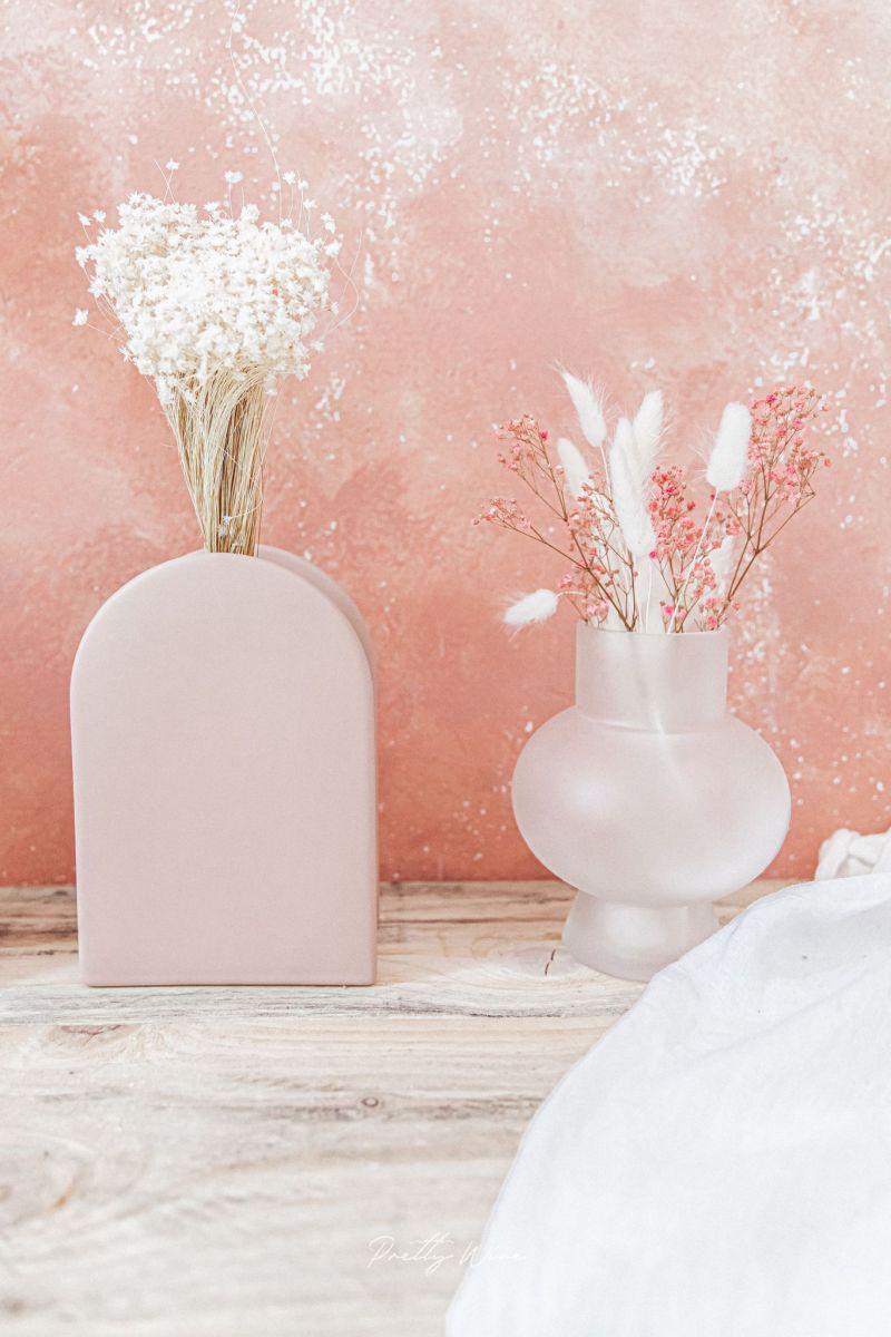 Vase Rond Blanc Satiné