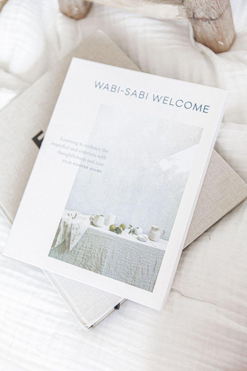 Livre Wabi-Sabi Welcome