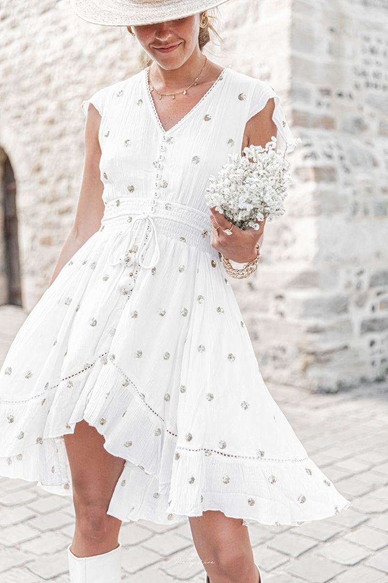 Robe CHICA Blanche
