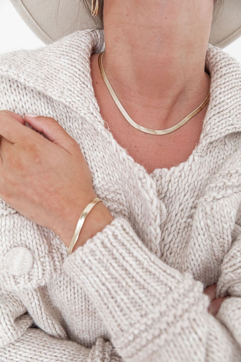 DONA - Bracelet acier doré