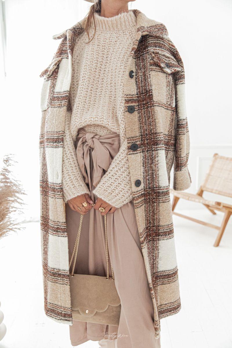 STOCKHOLM - Manteau long en laine