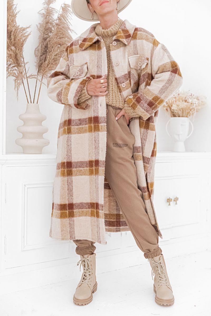 LUCIEN - Manteau en laine