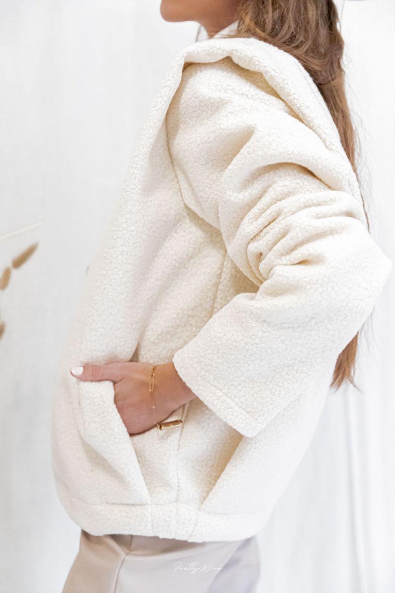 ZOLA Ecrue - Veste à épaulettes