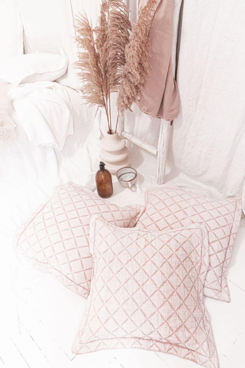 SABI Rose - Housse en gaze de coton