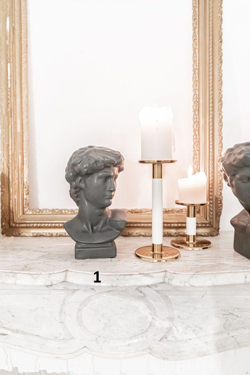 [HELIAS] Anthracite - Statue en grès 26 cm