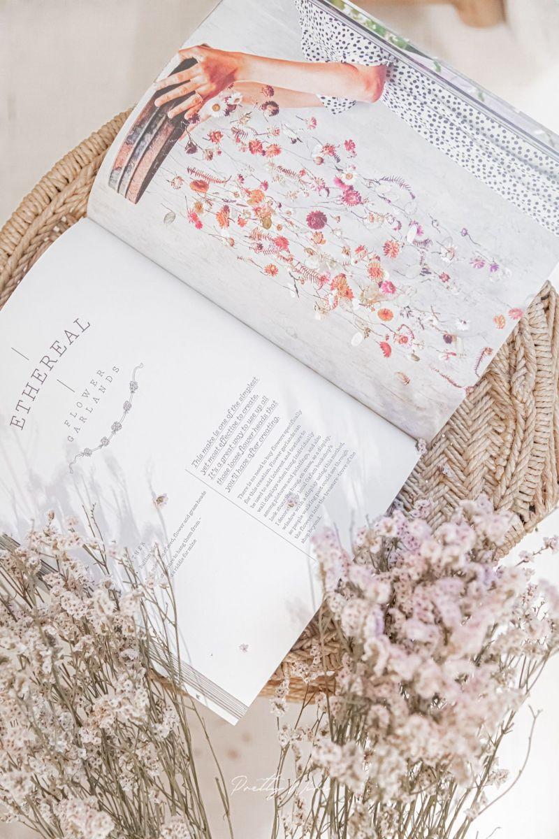 Livre Everlastings fleurs séchées