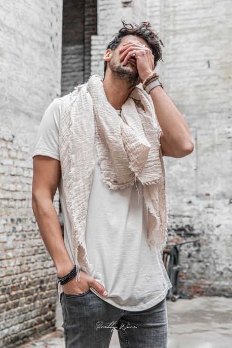 [Isidor] Beige - T-Shirt Coton