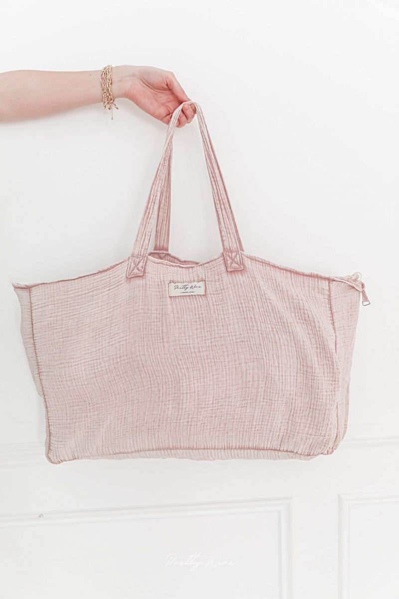 JADA Rose - Sac en gaze de coton