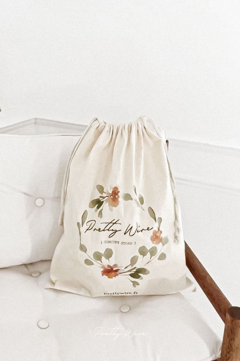 "Le Sac en coton ""Pretty Wire"""