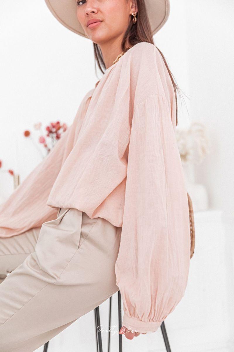 AMAYA Rose - Blouse ample