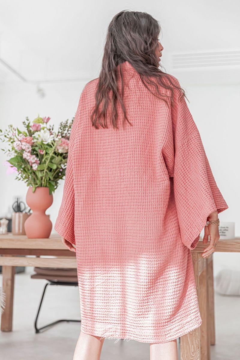 WABI Terracotta - Kimono nid d'abeille