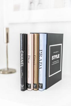 LITTLE GUIDE TO STYLE - Coffret 4 Livres de Luxe