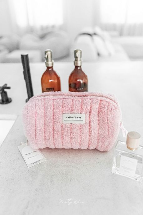 LOUNA BLUSH - Grande trousse éponge