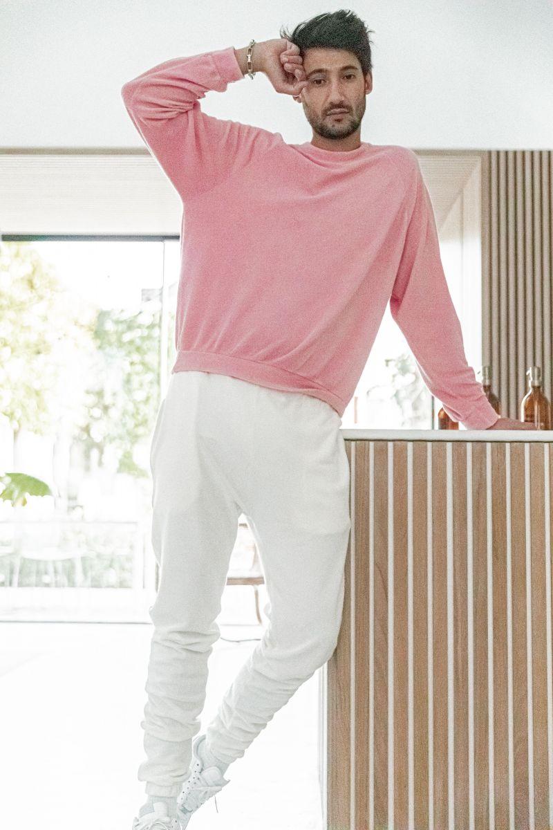 [Anil] Blush - Sweat-shirt éponge