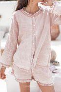 SONGE Rose - Pyjama en gaze de coton