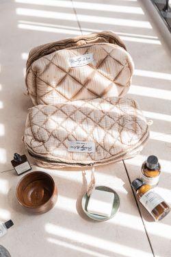 LOMA Sable - Trousse en gaze de coton