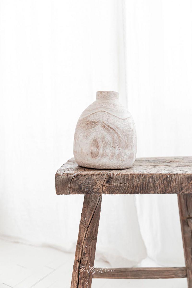 WOODY - Vase bois