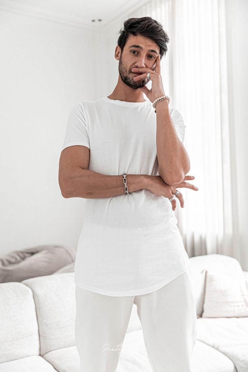 [Isidor] Blanc - T-Shirt Coton