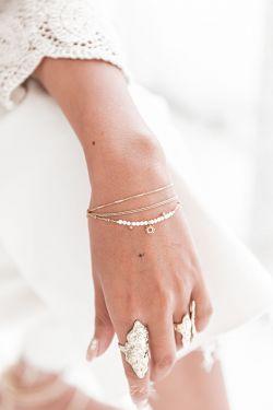 DAISY Doré - Bracelet