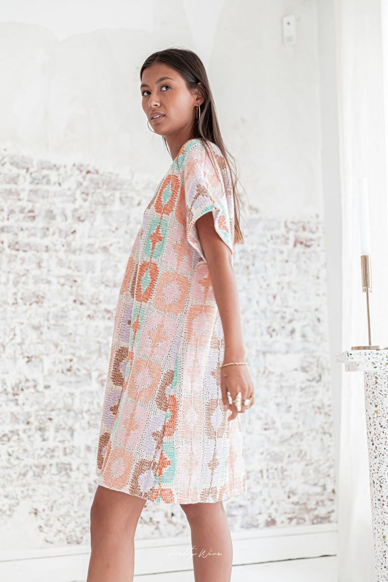 BONNIE Multicolore- Robe Crochet
