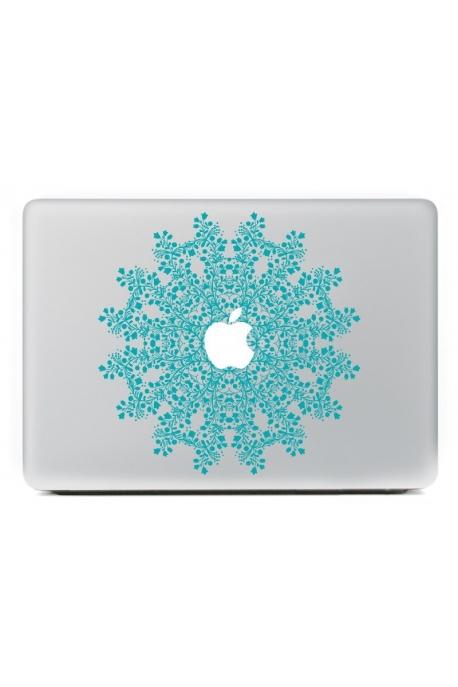 Stickers mandala turquoise