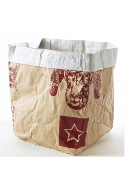 Grand Sac En Papier Craft Plastifié Buffle