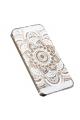 Coque mandala blanc Iphone - 4S / 5 / 5C / 5S / 6