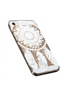 Coque attrape-rêves blanc Iphone - 5 / 5S / 6