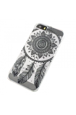 Coque attrape-rêves noir Iphone - 5 / 5S / 5C / 6