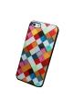 Coque triangles multicolores - 4S / 5 / 5S