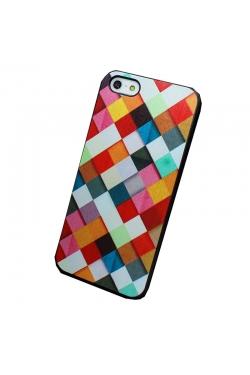 Coque losanges multicolores - 4S / 5 / 5S