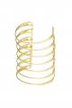 Manchette fil dorée