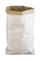 Grand sac Kraft blanc à personnaliser 53 x 72 x 13 cm