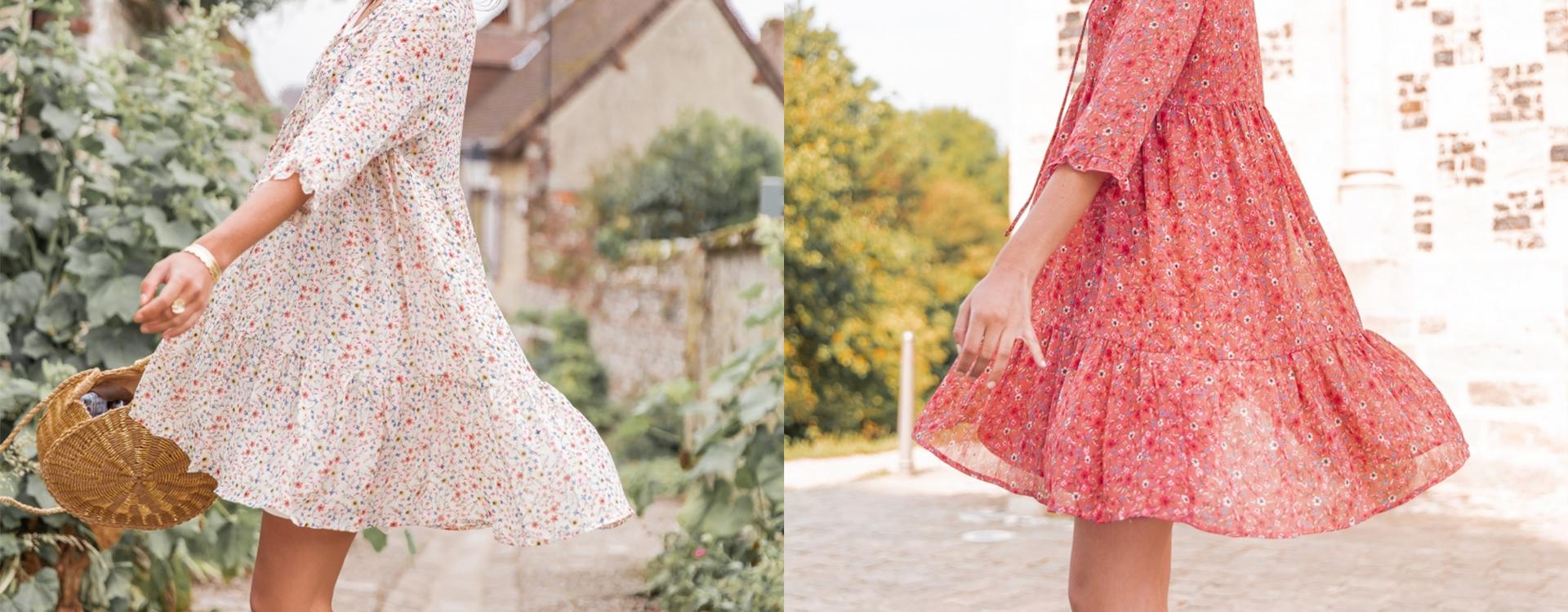 Nos robes d'été pour un look bohème